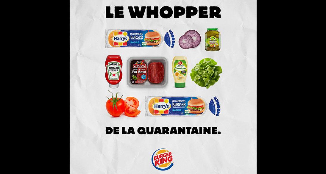 Τα Burger King δίνουν συνταγή για home-made Whopper