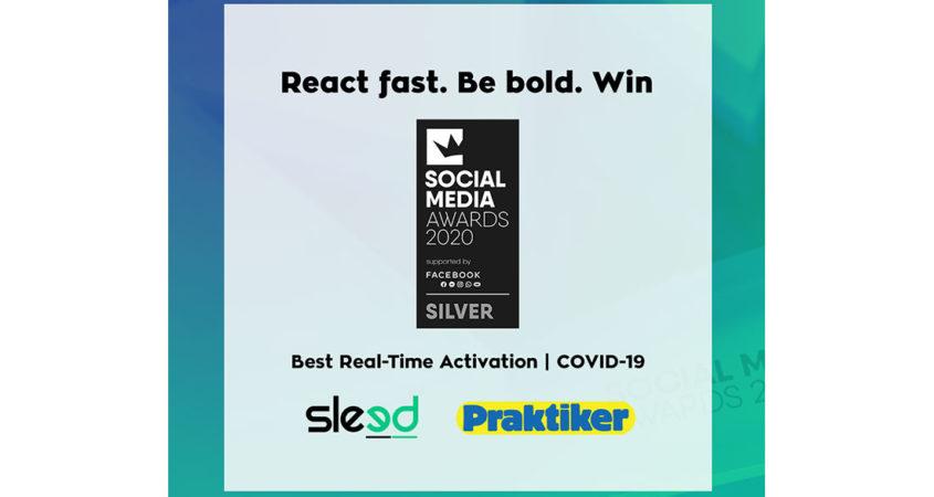 Praktiker & Sleed βραβεύονται στα Social Media Awards