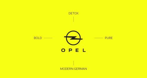 H Opel με νέο λογότυπο και εταιρική ταυτότητα