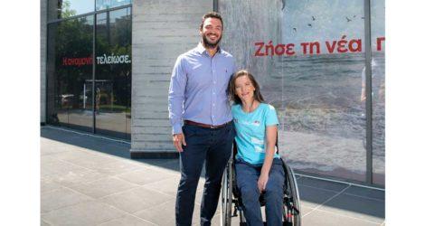 Η Lenovo Χορηγός Παραολυμπιακής αθλήτριας