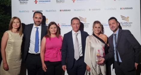«Χρυσή» η AstraZeneca στα Healthcare Business Awards 2021