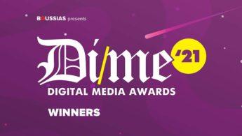 7 DIME Awards για την Adjust.