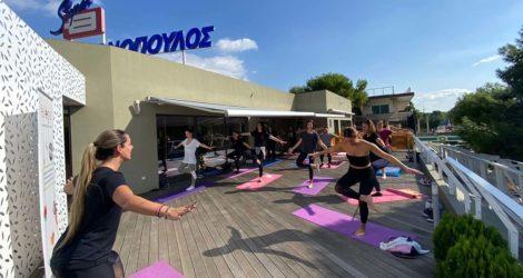 Evlogia και Θανόπουλος σε wellness activation